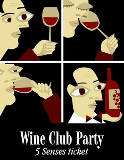 Wine Club Party Image