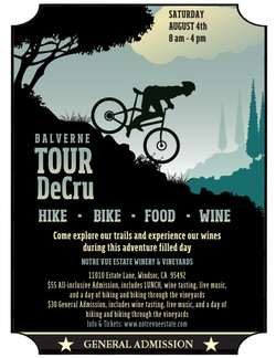 Tour de Cru General Admission Ticket